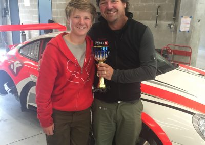 Colin, Oli. 3rd place trophy, 997