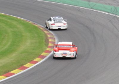 Colin - Spa 2015 - chasing leader at Pouhon