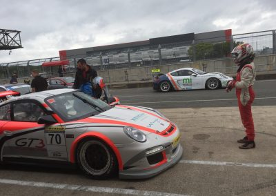 Oli Willmott's 1st GT race, Driver change - 2nd overall!