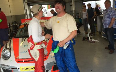 Silverstone GP, Britcar – FIRST RACE for father & son pairing Colin & Oli – they both did good ;-)
