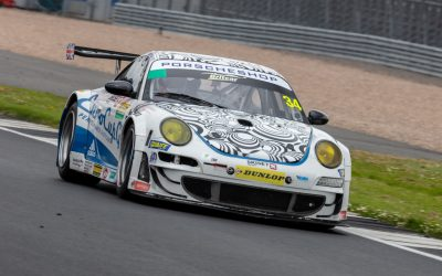 Oli is invited to drive with PORSCHESHOP entry of their 997 RSR, Oli performed very professionally